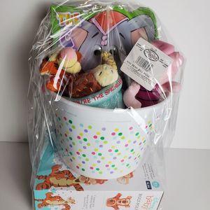 Disney Winnie The Pooh Easter Basket Filled Plush